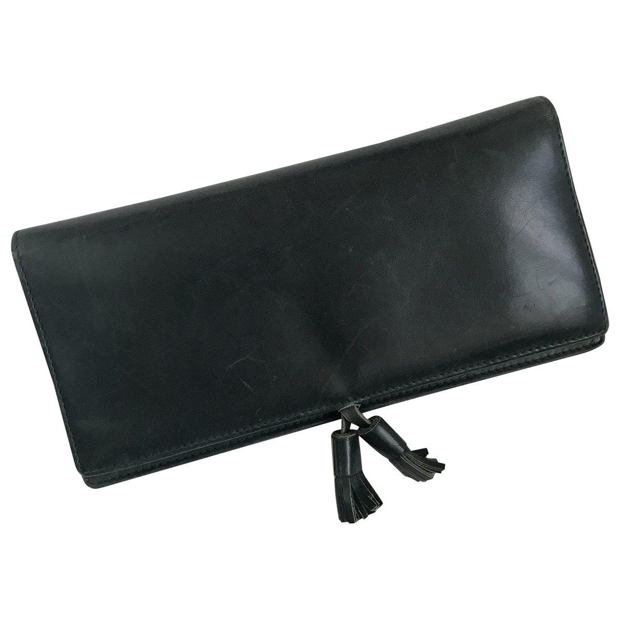 Church's \N Green Leather Purses, wallet & cases for Women \N
