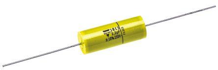 Vishay 2.2μF Polyester Capacitor PET 160 V ac, 250 V dc ±10%, Through Hole (5)