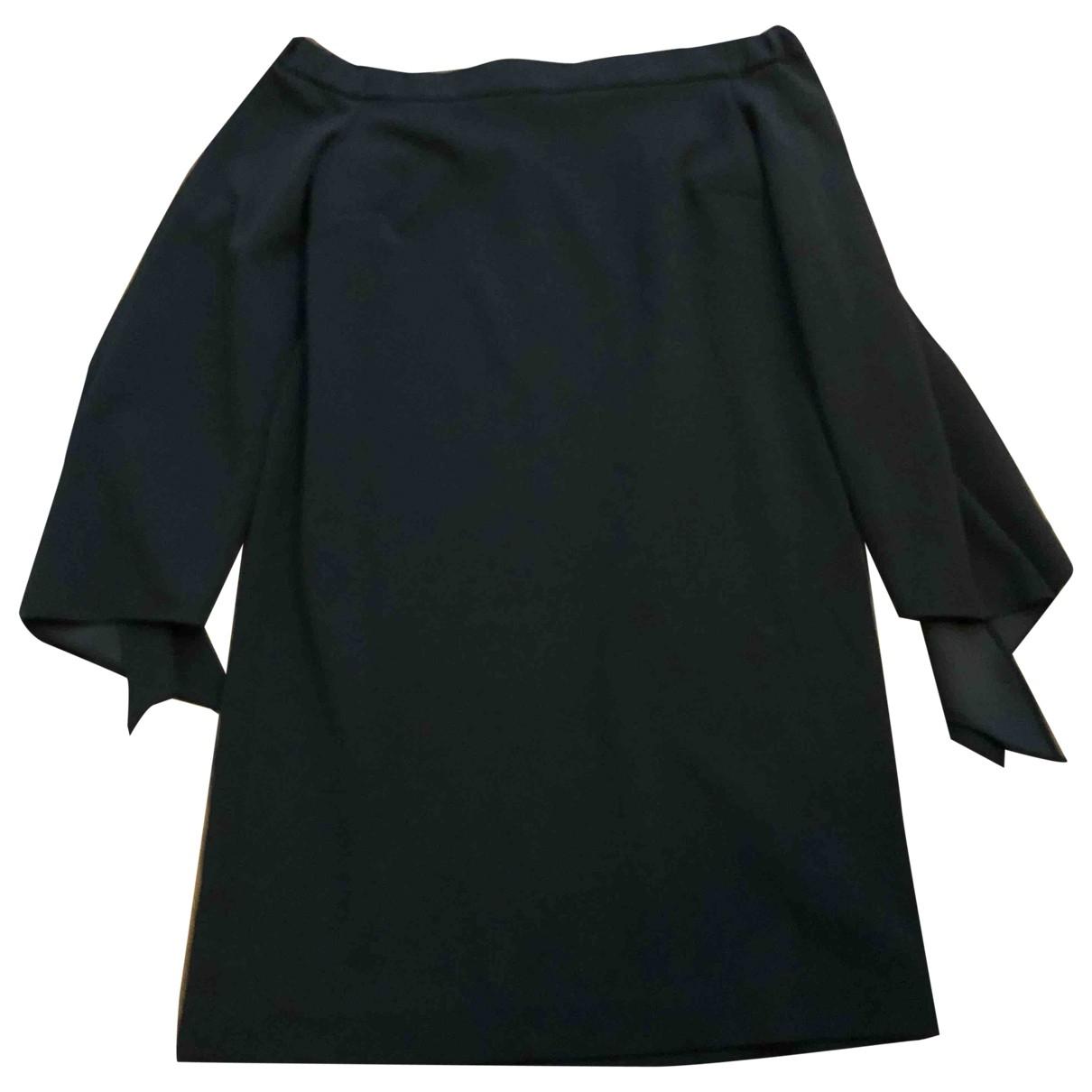 Tibi \N Kleid in  Schwarz Polyester