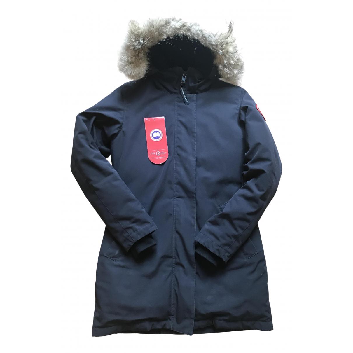 Canada Goose - Manteau Victoria pour femme - bleu