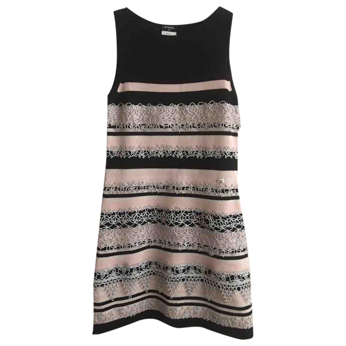 Chanel \N Kleid in  Bunt Kaschmir