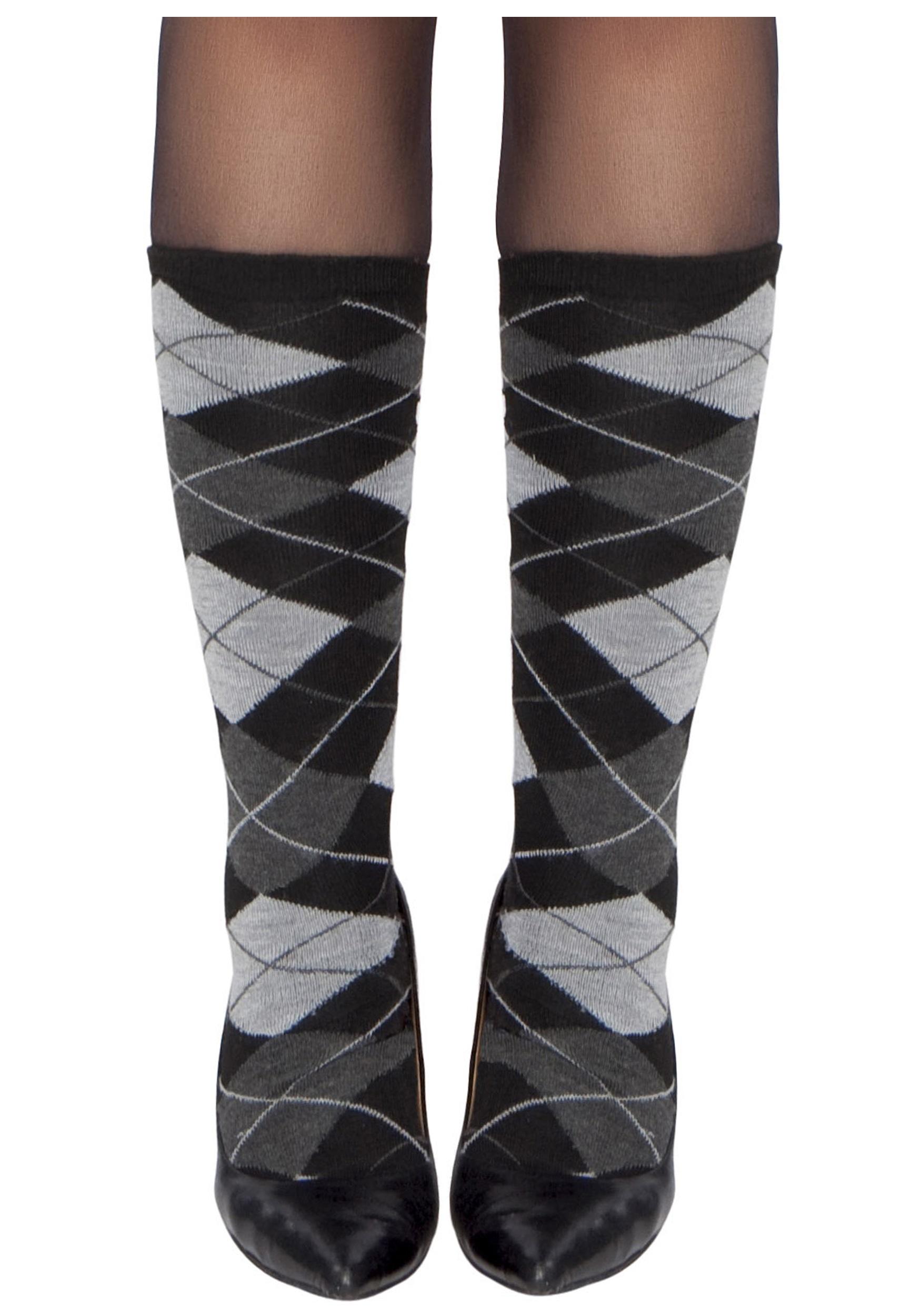 Woman's Argyle Stockings