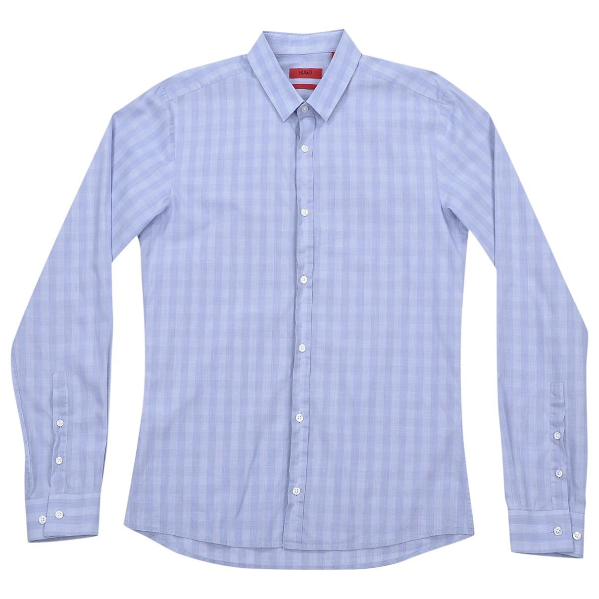 Hugo Boss - Chemises   pour homme en coton - violet