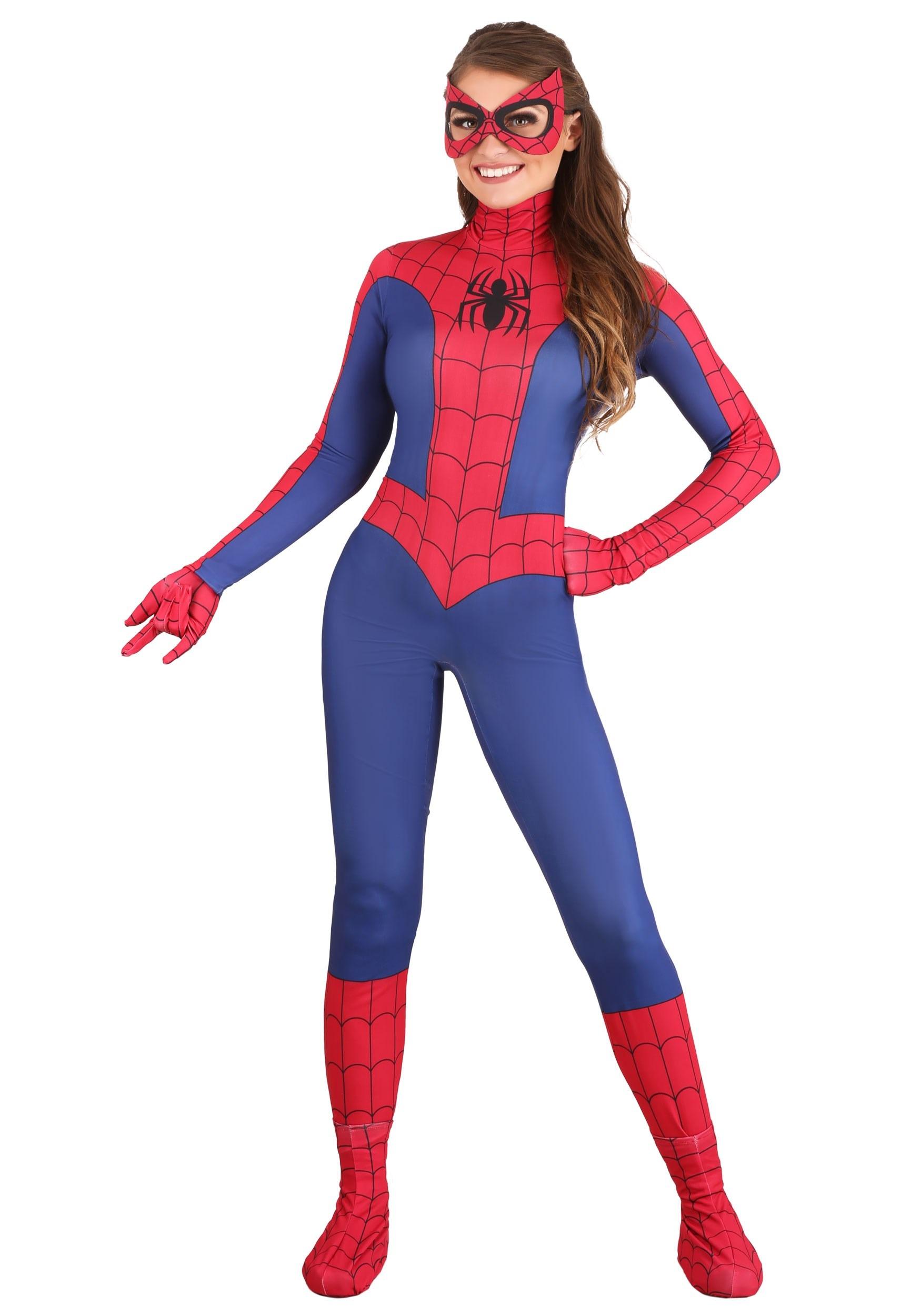 Spider-Man Costume for Women | Spider Girl Costume