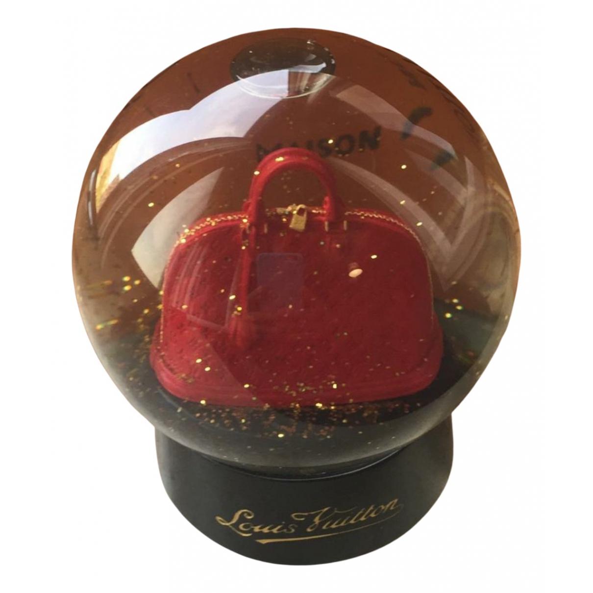 Louis Vuitton - Objets & Deco   pour lifestyle en verre - rouge