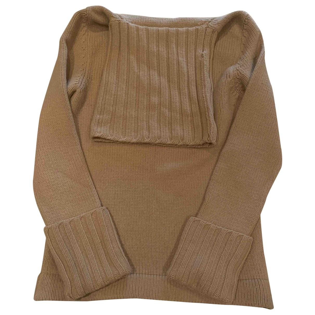 Antonio Berardi - Pull   pour femme en laine - beige