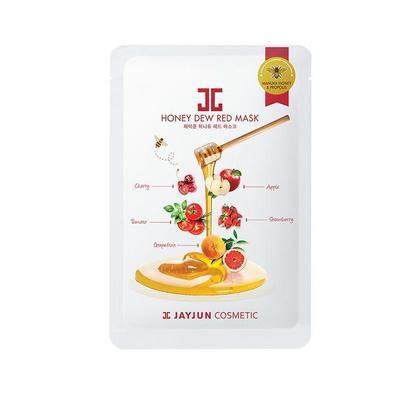 JAYJUN Masque Miel Rosée Rouge 5Pcs/Paquet