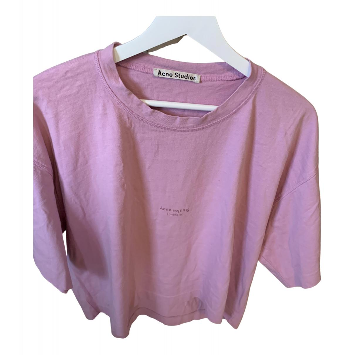 Acne Studios - Top   pour femme en coton - violet