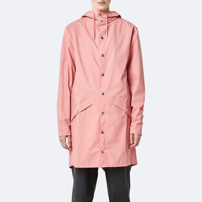 Rains Long Jacket 1202 CORAL