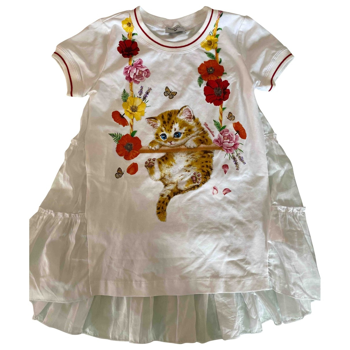 Monnalisa \N White Cotton Outfits for Kids 8 years - until 50 inches UK