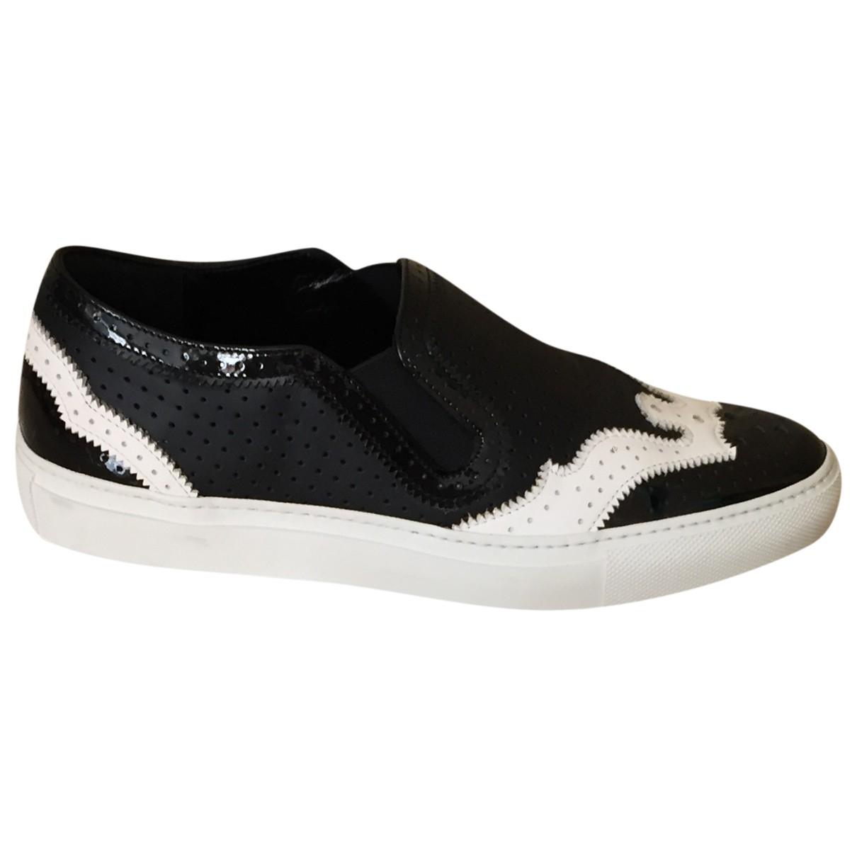 Givenchy \N Black Leather Trainers for Women 37 IT