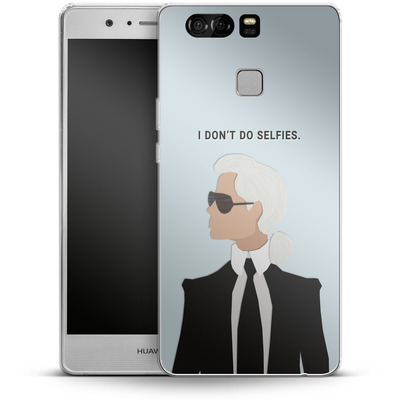 Huawei P9 Silikon Handyhuelle - Lagerfeld von caseable Designs