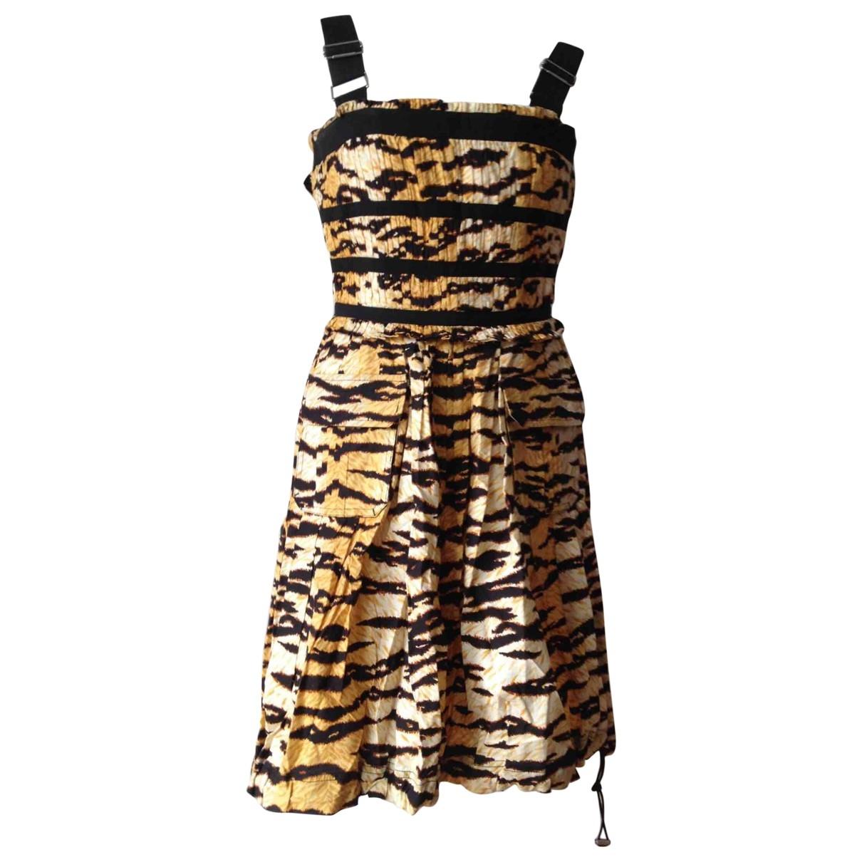D&g \N Kleid in Baumwolle - Elasthan
