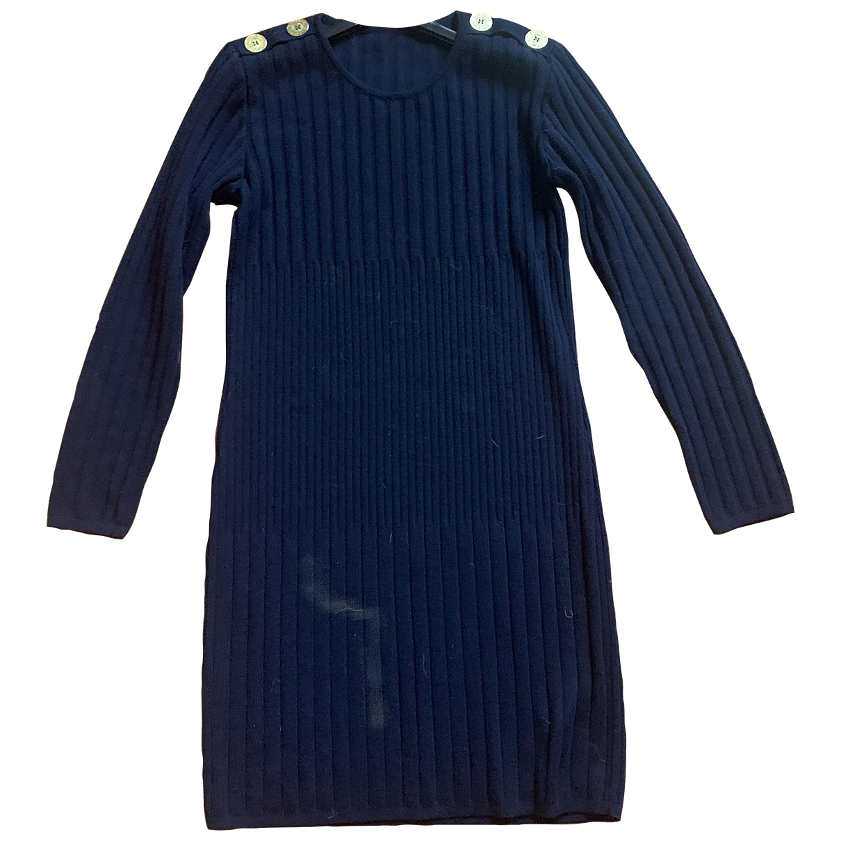 Givenchy \N Blue Wool dress for Women 42 IT