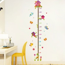 Cartoon Pattern Baby Height Measurement Wall Sticker