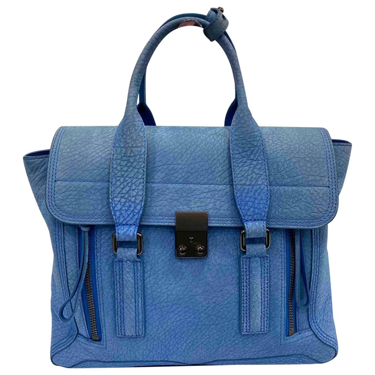3.1 Phillip Lim Pashli Blue Leather handbag for Women \N