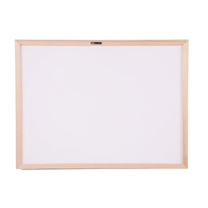 Non-Magnetic Dry-Erase Whiteboard, Wood Frame, 45 x 60cm (18 x 24) - Moustache@ - Whiteboard Only