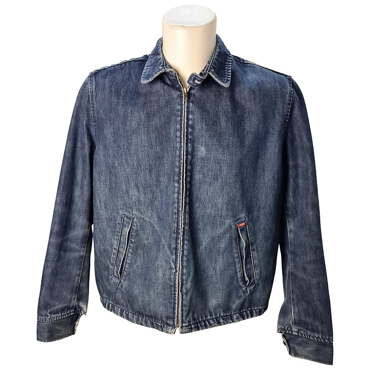 Levi's N Blue Cotton jacket  for Men L International