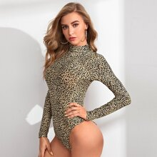 Body mit Leopard Muster