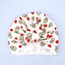 Baby Turban Hut mit Herzen Muster