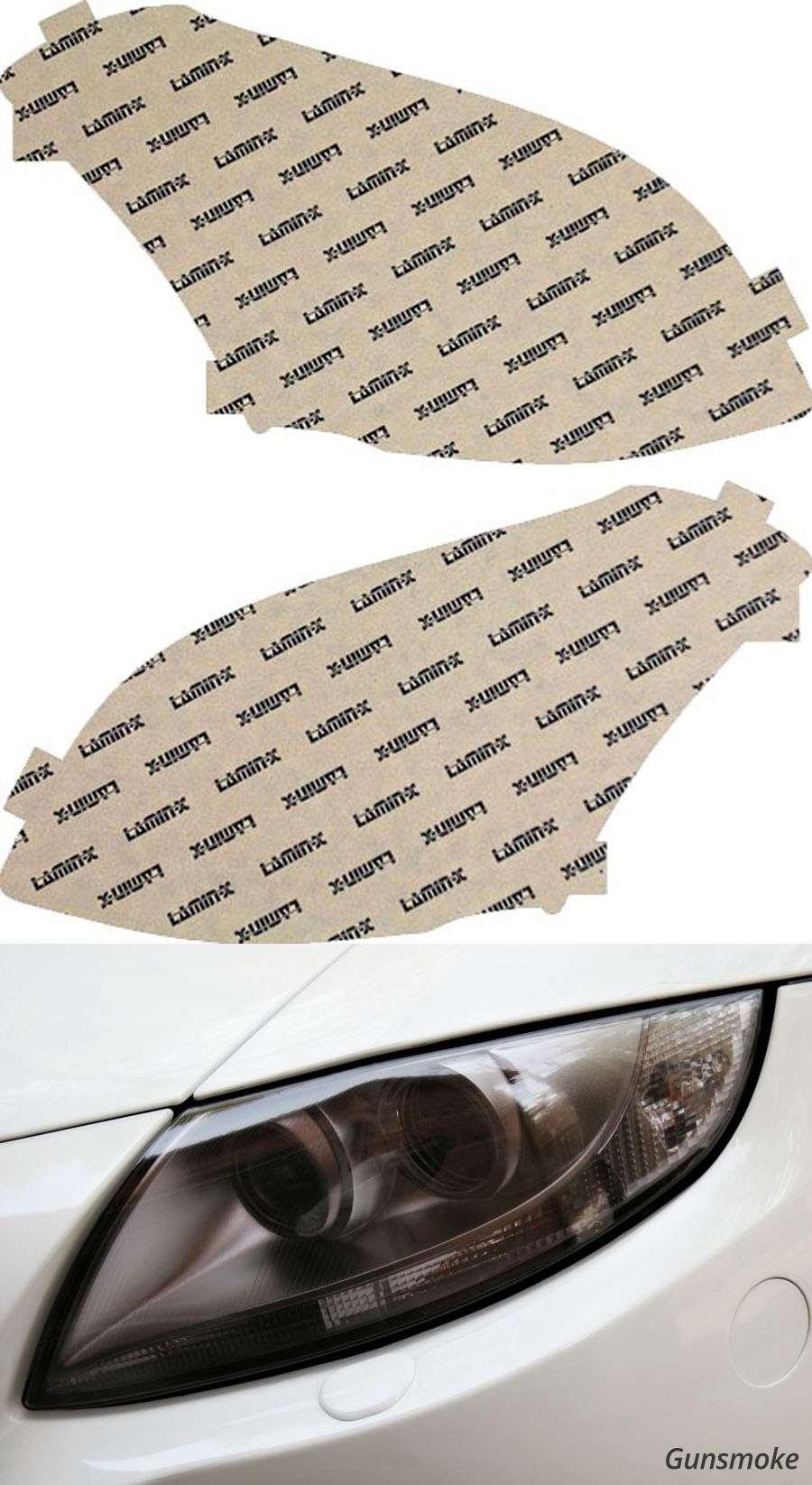 Nissan Maxima 07-08 Gunsmoke Headlight Covers Lamin-X N019G