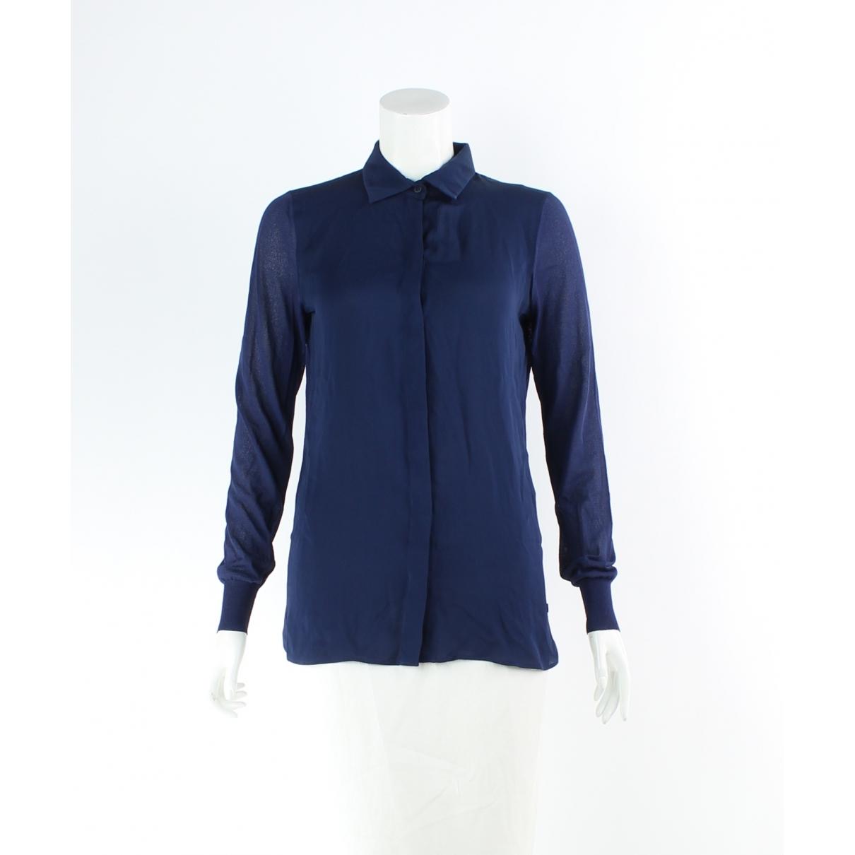 Gucci \N Navy Silk  top for Women XS International