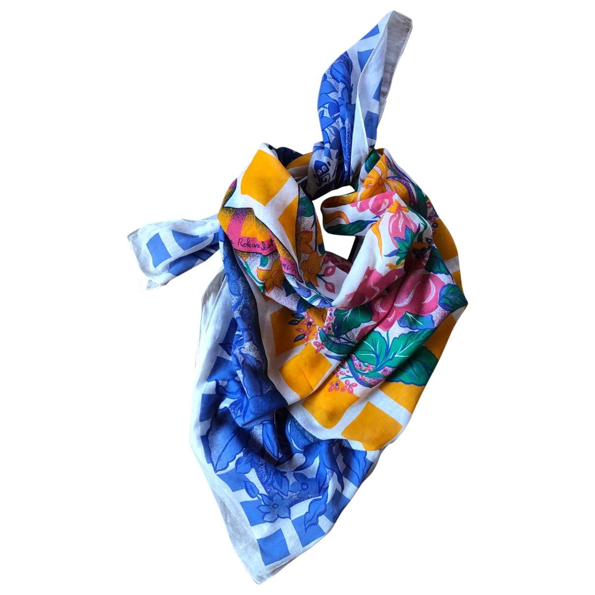 Lanvin - Foulard   pour femme en coton - multicolore
