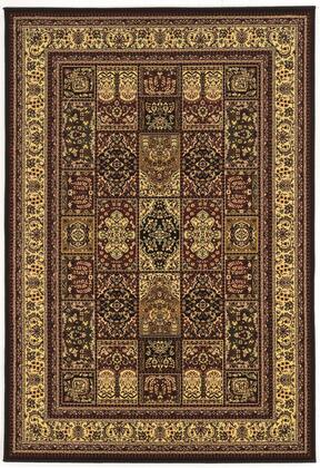 RUGPT0158 5 x 8 Rectangle Area Rug in