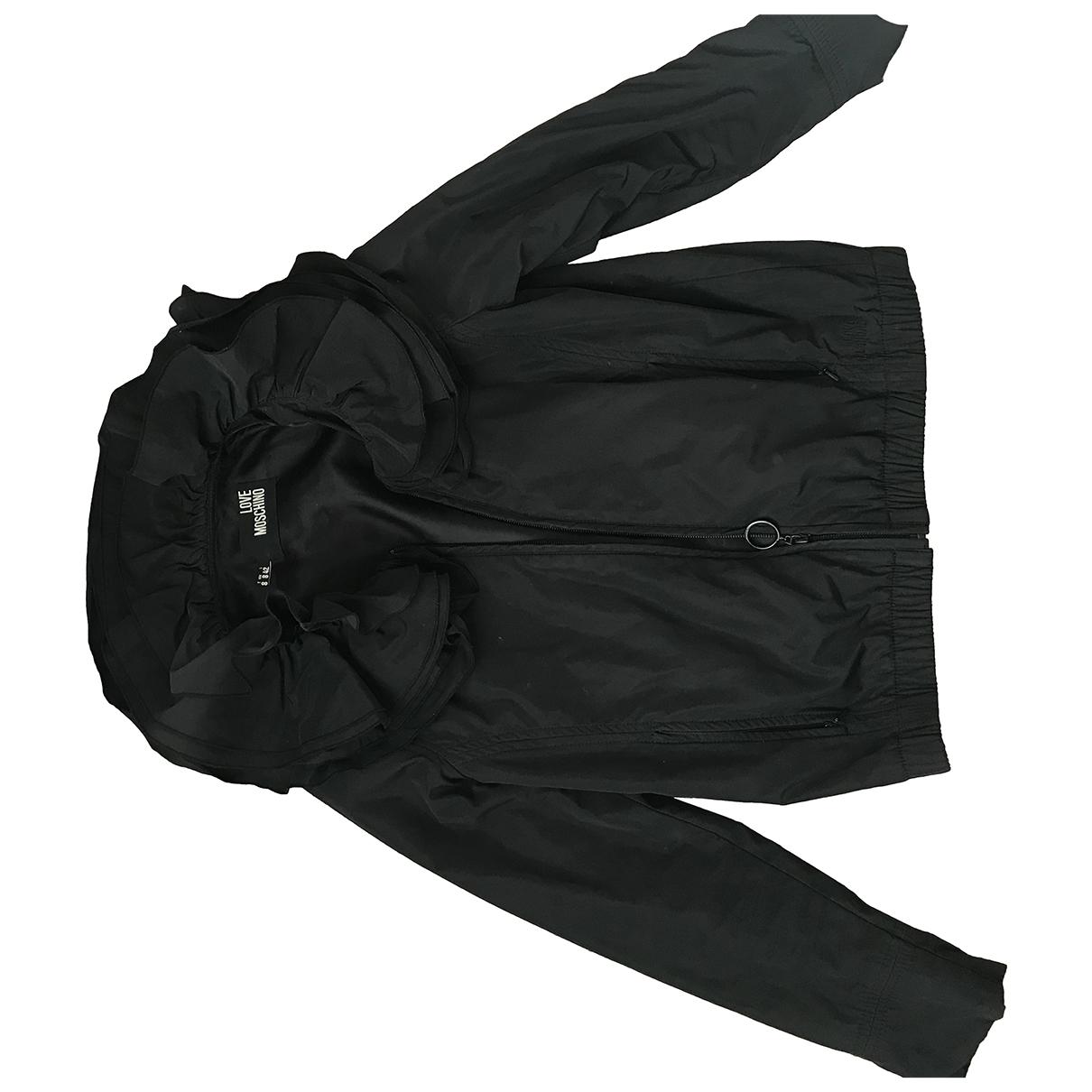 Moschino Love \N Black jacket for Women 32 FR