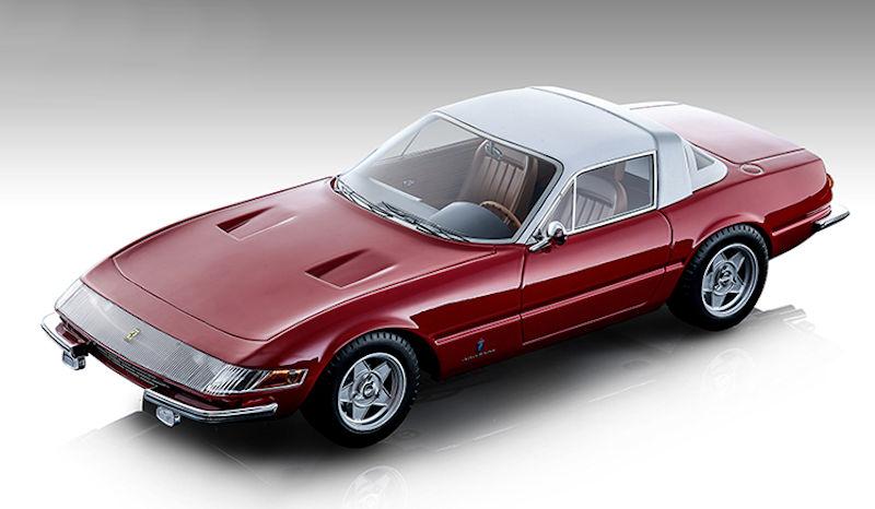 1969 Ferrari 365 GTB/4 Daytona Coupe Speciale Gloss Ferrari Red with White Top