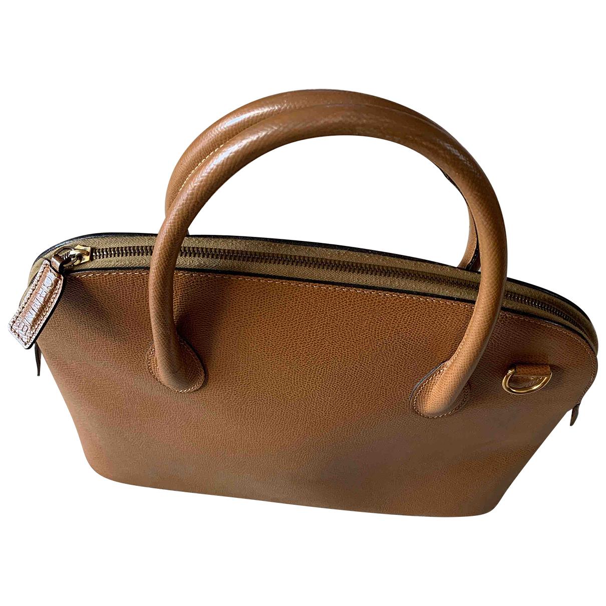 Celine \N Camel Leather handbag for Women \N