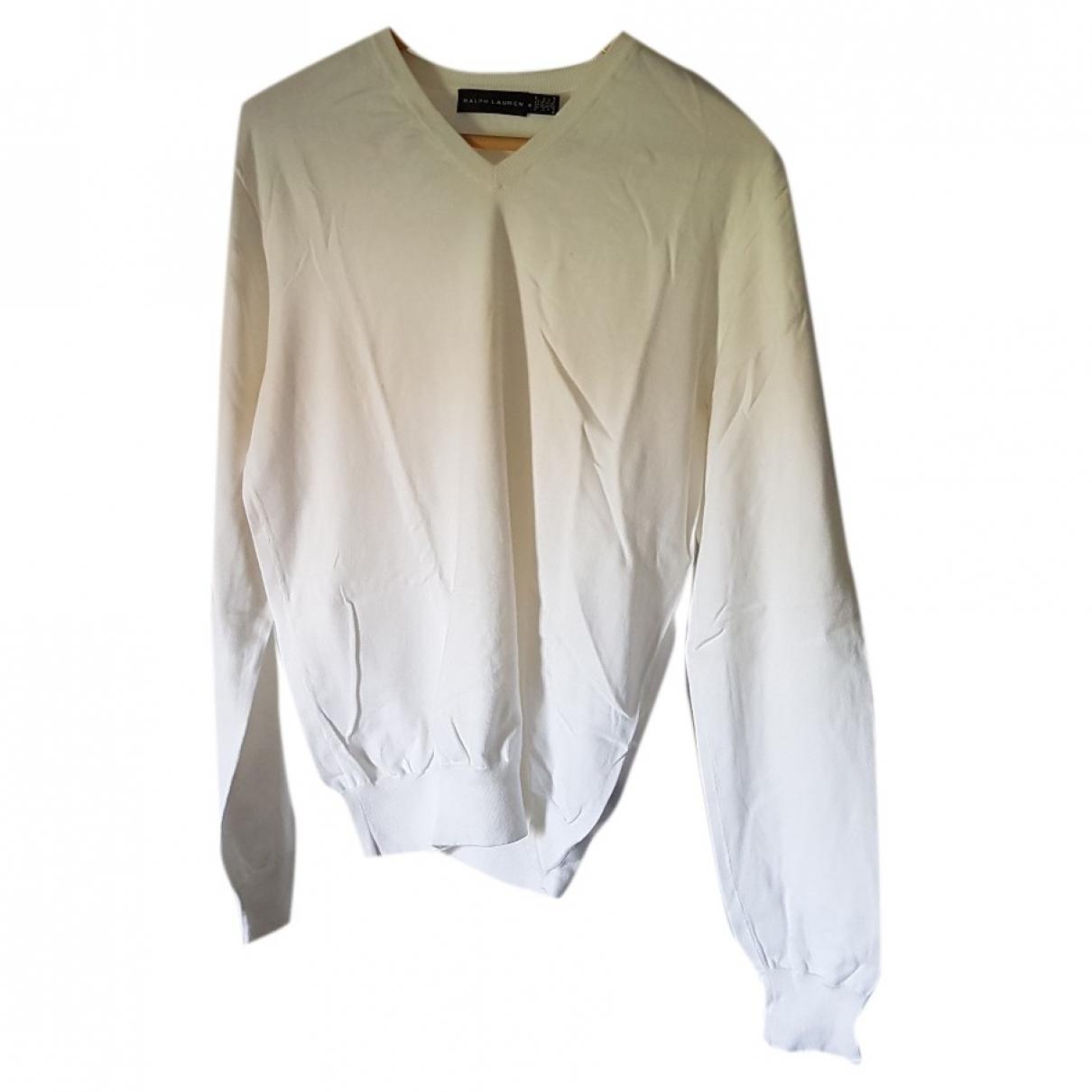 Ralph Lauren \N Pullover.Westen.Sweatshirts  in  Weiss Baumwolle