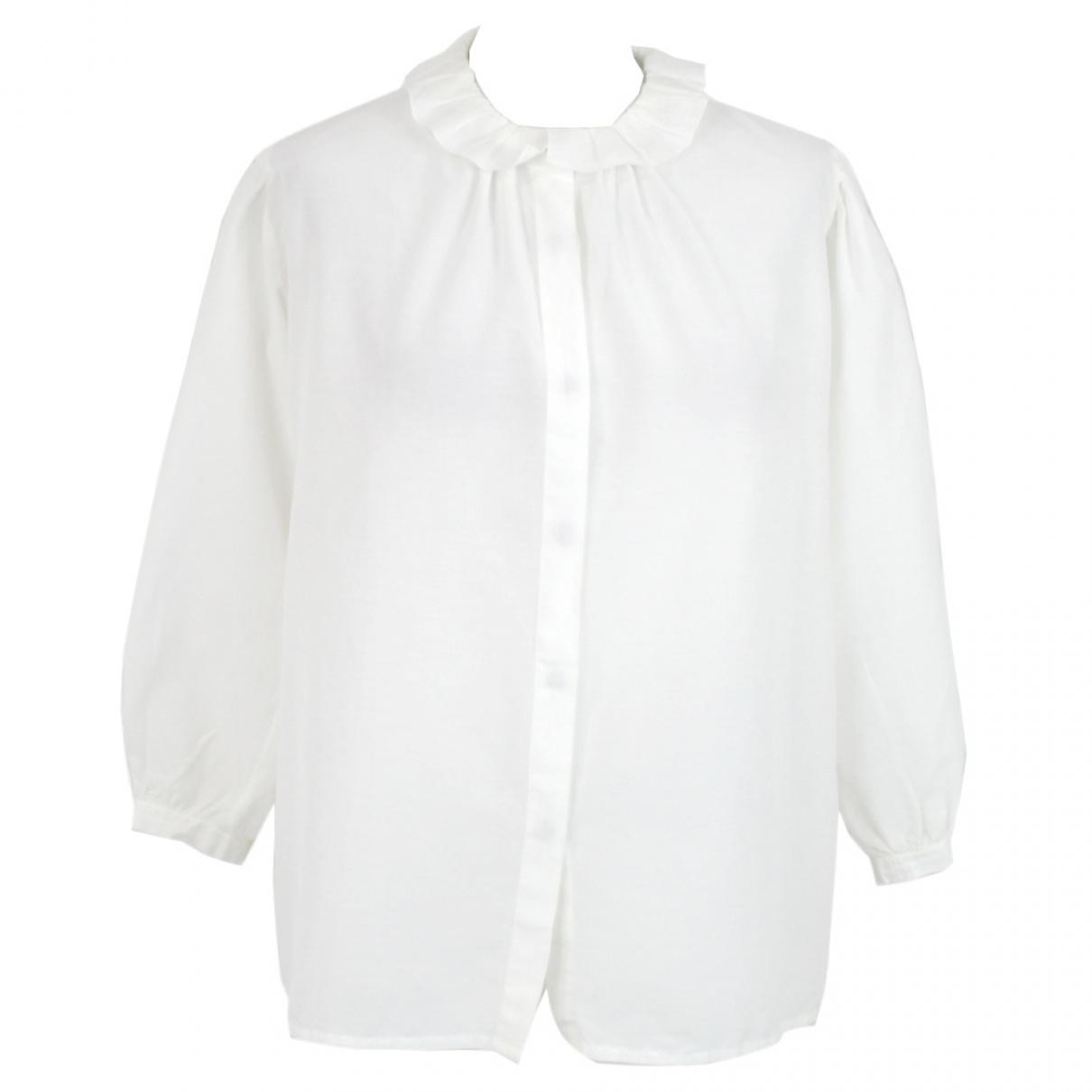 Pomandere - Top   pour femme - blanc