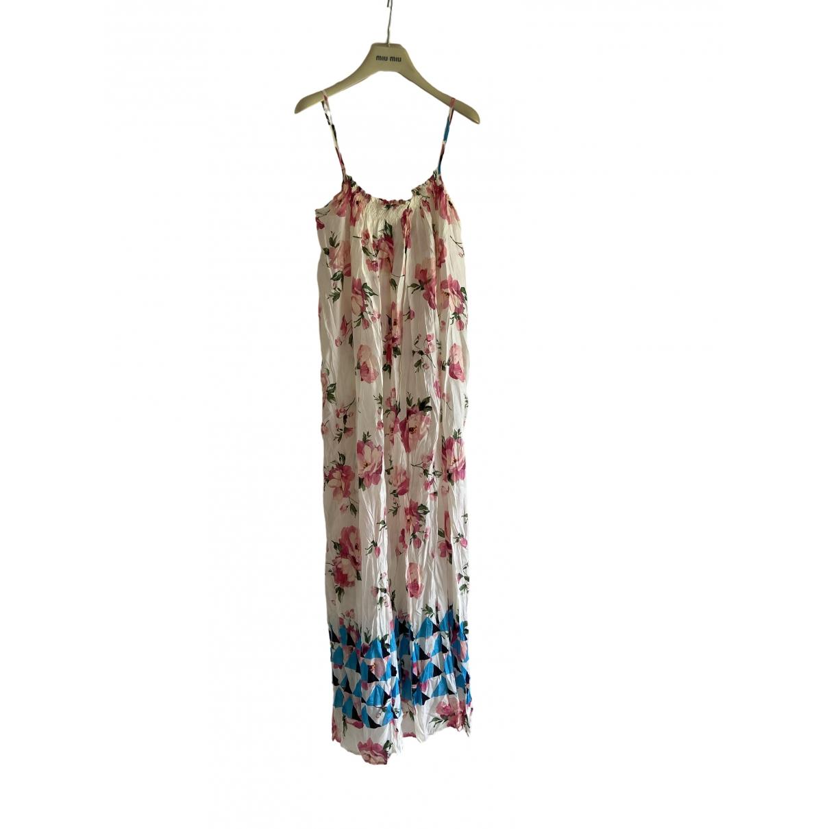 Jucca - Robe   pour femme en soie - multicolore