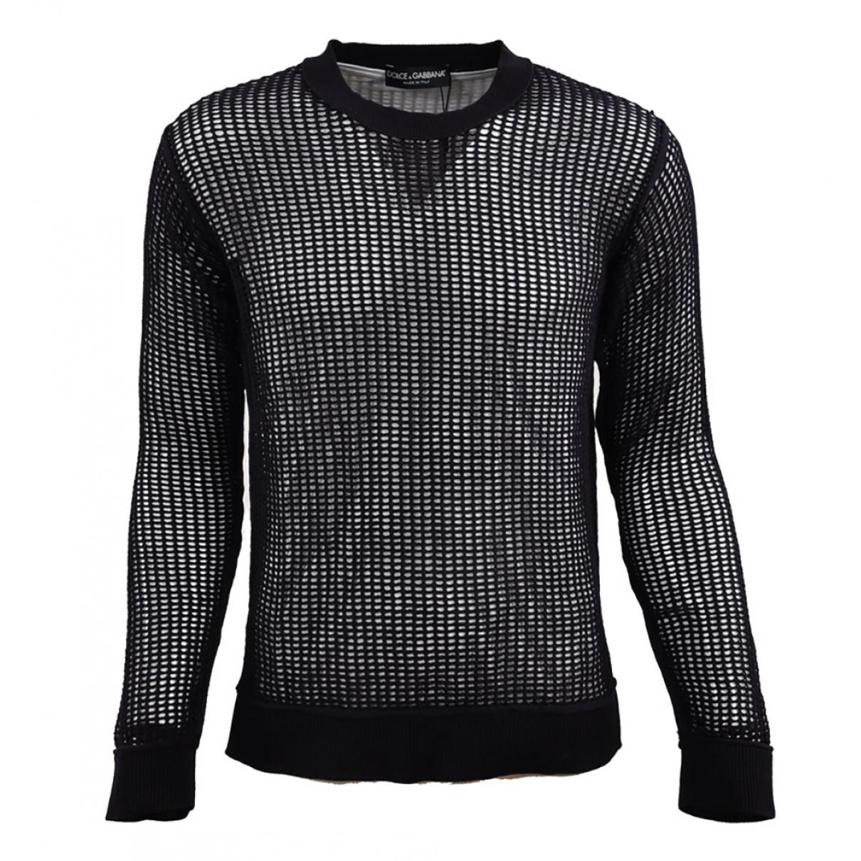 Dolce & Gabbana \N Purple Cotton Knitwear & Sweatshirts for Men M International