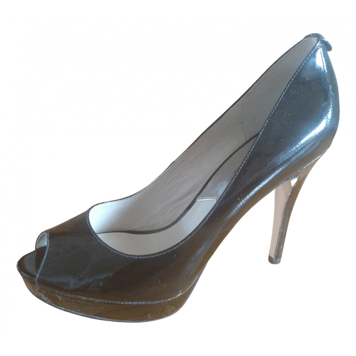 Michael Kors N Black Patent leather Heels for Women 40 EU