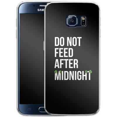 Samsung Galaxy S6 Silikon Handyhuelle - After Midnight von caseable Designs