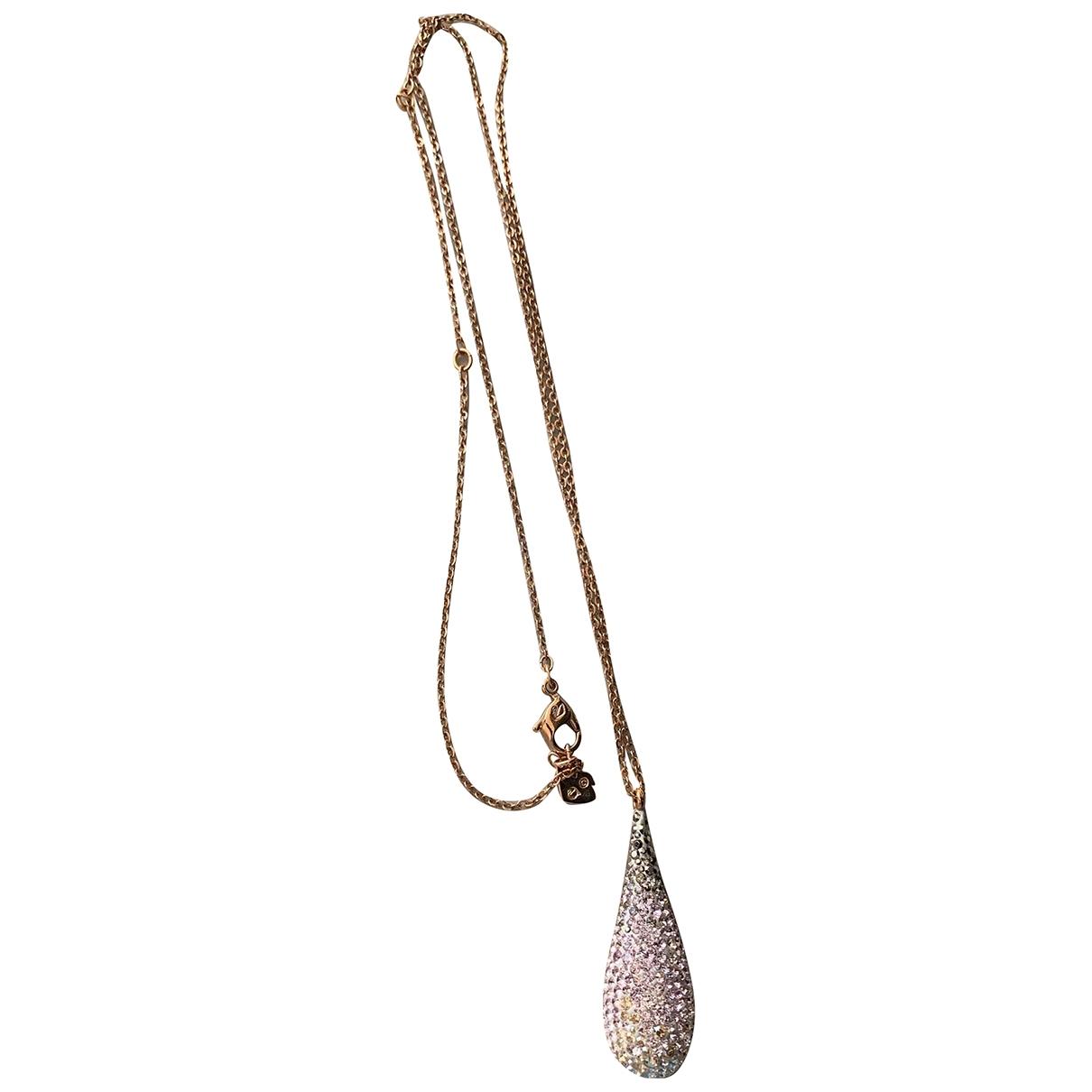 Swarovski \N Halskette in  Gold Vergoldet