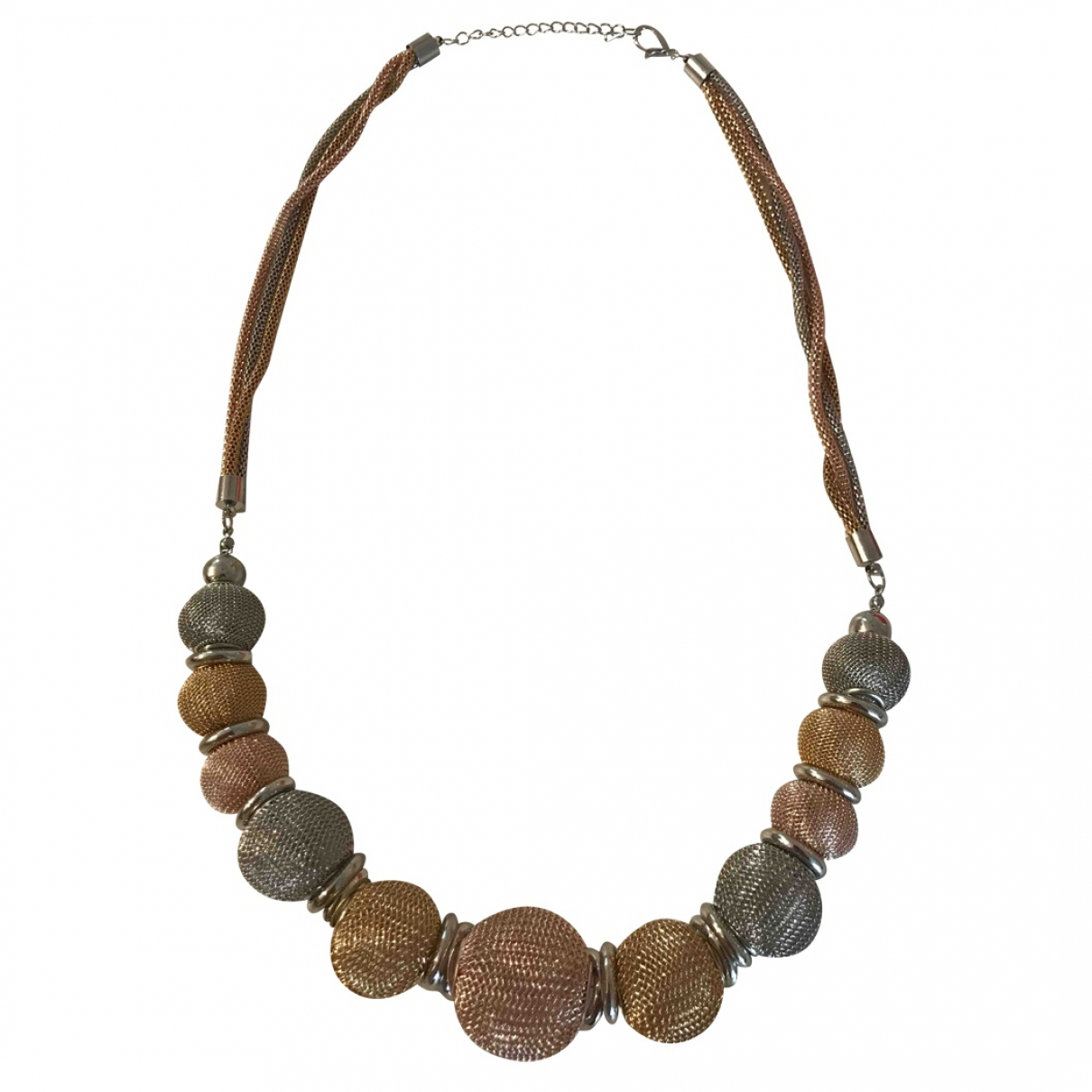 Non Signé / Unsigned \N Metal necklace for Women \N