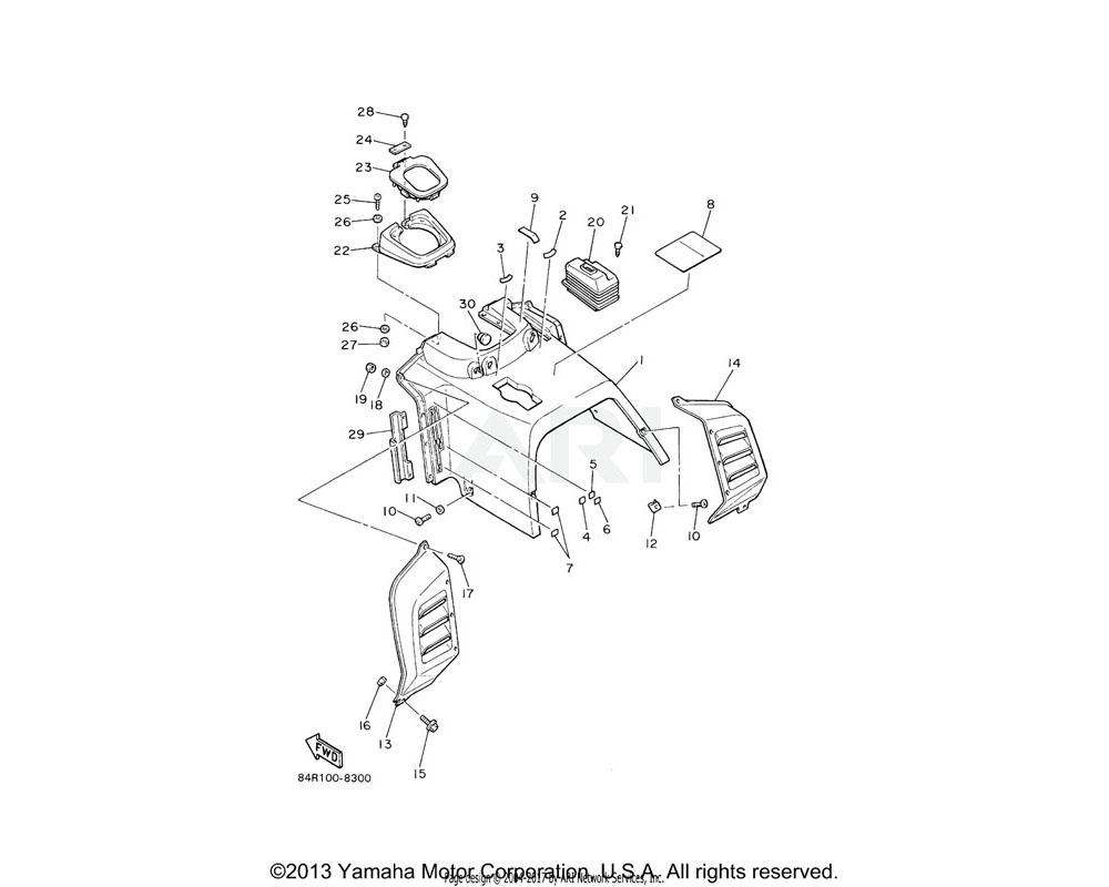 Yamaha OEM 83R-77741-00-00 INDICATOR 1 | (USA)