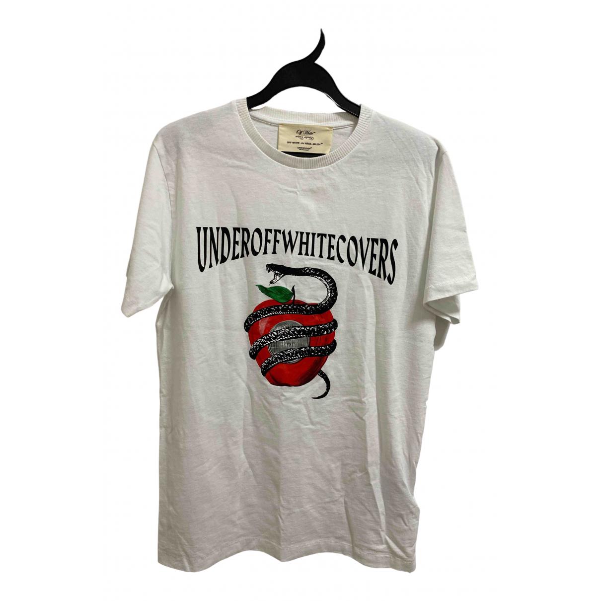 Off-white \N Ecru Cotton T-shirts for Men S International