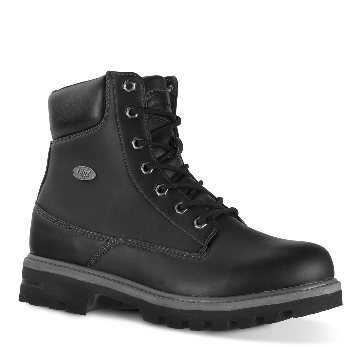 Men's Empire Hi Water Resistant 6-Inch Boot (Choose Your Color: Black/Charcoal, Choose Your Size: 11.5)