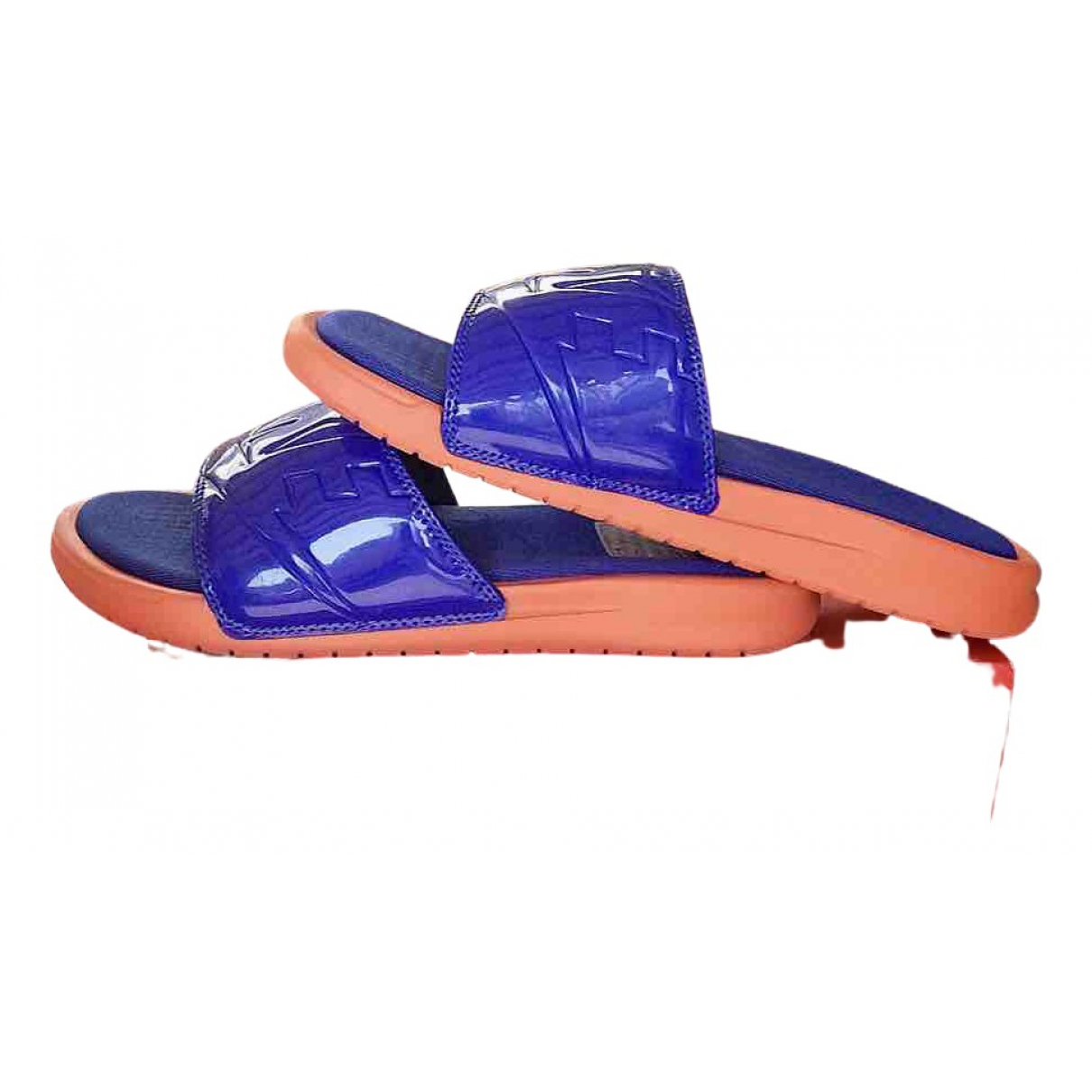 Nike \N Sandalen in  Bunt Kunststoff