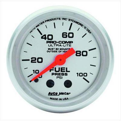 Auto Meter Ultra-Lite Mechanical Fuel Pressure Gauge - 4312