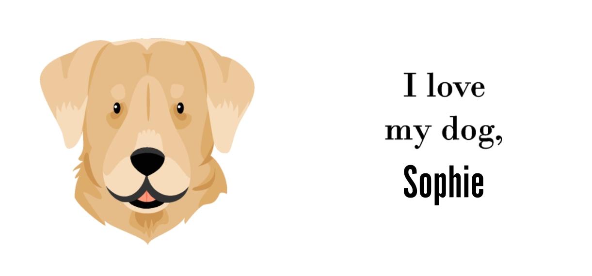 Pets + Animals 11oz Hidden Picture Mug, Gift -Labrador Retriever