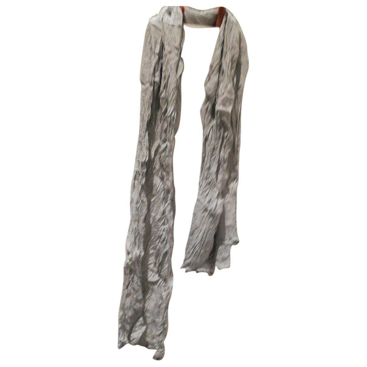 Emporio Armani - Foulard   pour femme - gris