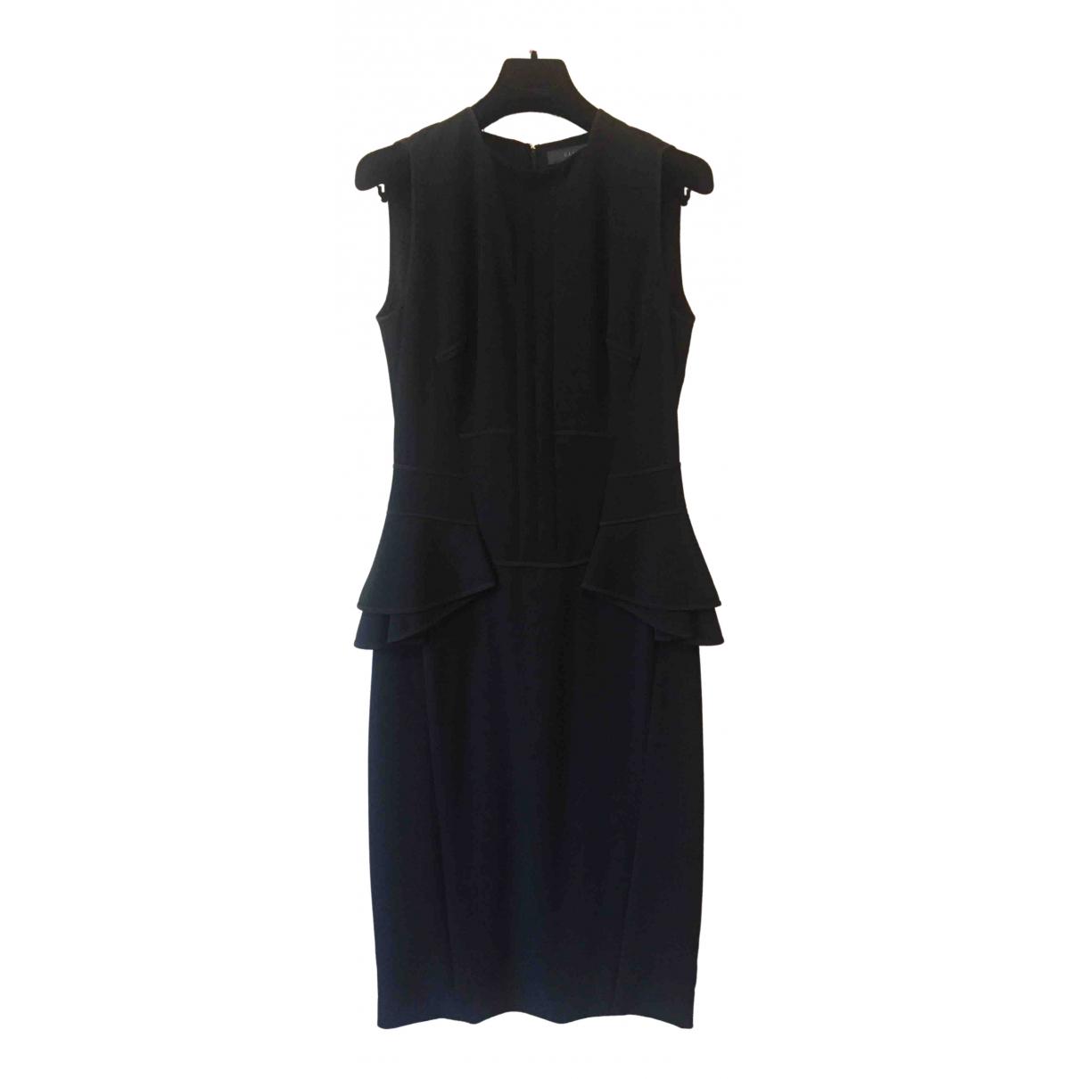 Elie Saab \N Kleid in  Schwarz Wolle