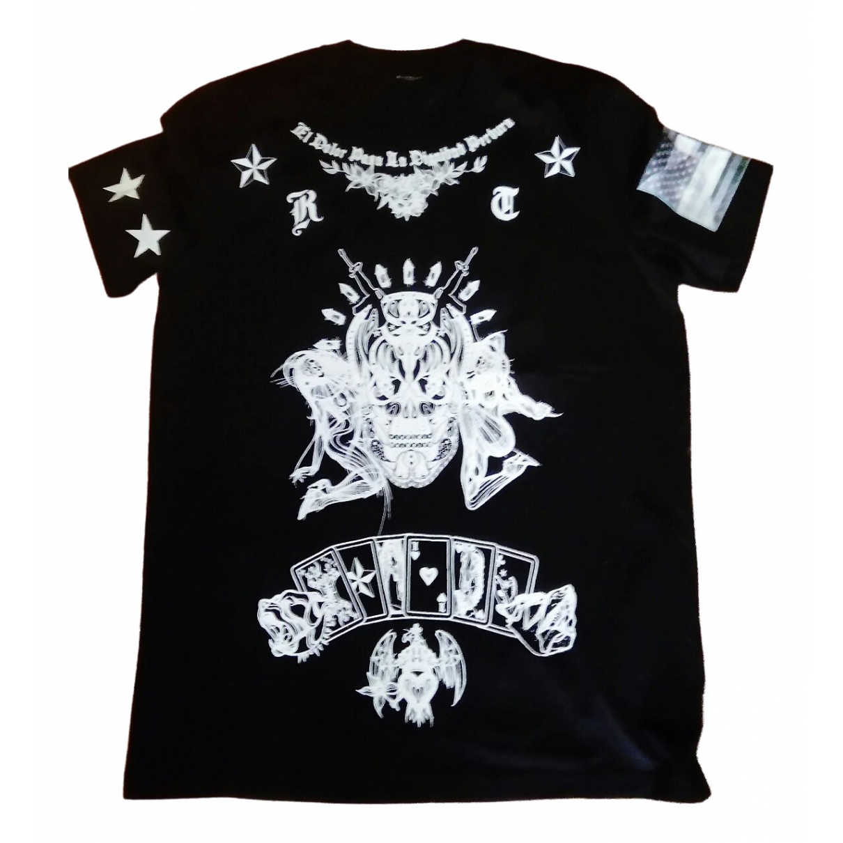 Givenchy \N Black Cotton T-shirts for Men L International