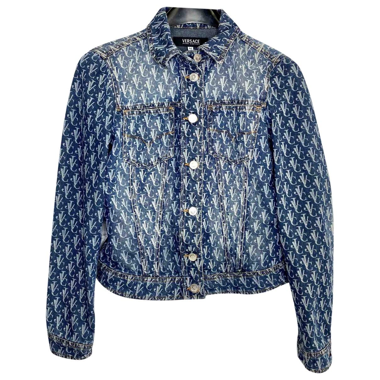 Versace Jeans \N Blue Cotton jacket for Women M International
