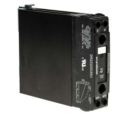 Sensata / Crydom 30 A SP Solid State Relay, Zero Cross, DIN Rail, MOSFET, 200 V dc Maximum Load